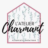 logo l'atelier charmant fleuriste, partenaire