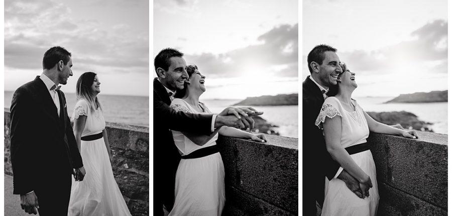 mia dans la lune, couple, Saint Malo, fou rire