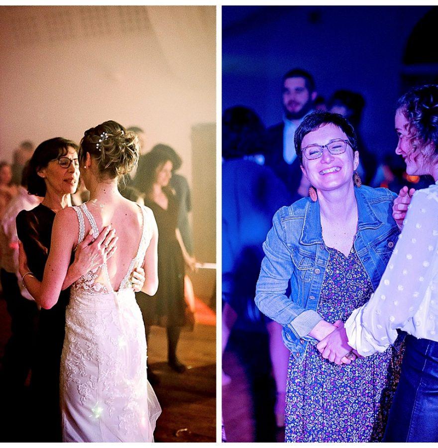 mia dans la lune, mariage d'hiver à Saint Malo, partie dansante
